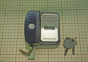 画像1: ★ヨド物置 表示付き MNF錠