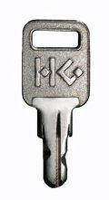 ハードグラスのカギ製作(純正キー) ハードフラットキー※2本単位のご発注