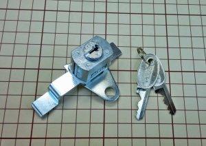 画像1: プラス ラテラルキャビネット錠 K4G型