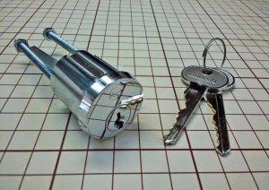 画像1: クマヒラ NK型シリンダー シリンダー部のみ クマヒラ 金庫 鍵交換