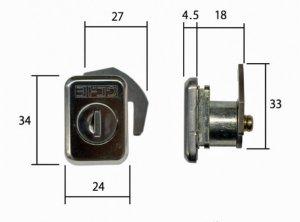 画像2: ★ヨド物置 KR79対応錠
