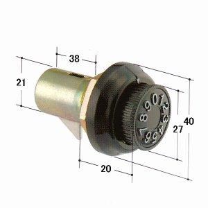画像1: KR-95 ポスト錠
