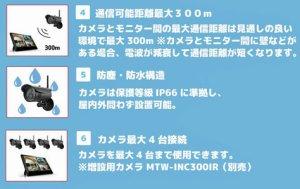 画像4: ワイヤレス防犯カメラシステム  MT-WCM300