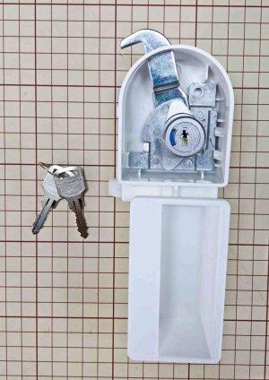 画像1: コクヨロッカー錠新・インジケータ付き