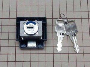 画像1: ★ITOKIイトーキ キャビネット錠 新 カギの交換