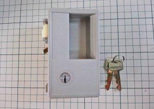 画像1: コクヨ ロッカーP-1錠 旧タイプ型