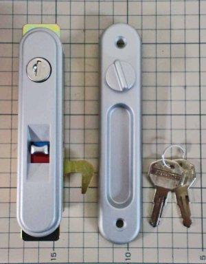 画像1: ★ヨド物置 車庫用サムターン錠付把手