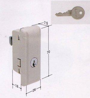 画像1: Sf引き戸錠KR67