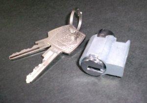 画像1: ウチダデスク錠