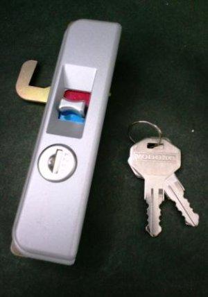 画像1: ★ヨド物置ZR錠つき把手※錠のみ