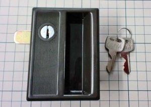 画像1: ダイヤ汎用ロッカーLK-01錠